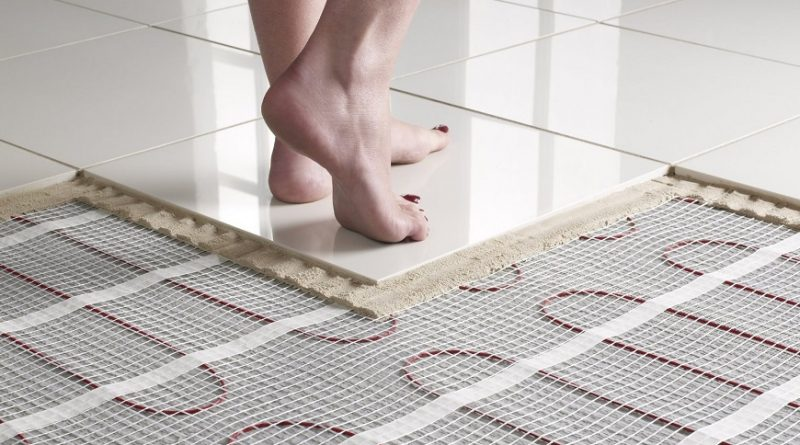 The Benefits of Underfloor Heating